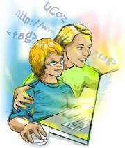 Сказка о веб-дизайне, гармонии и сознательном материнстве, или как вырастить себе админа